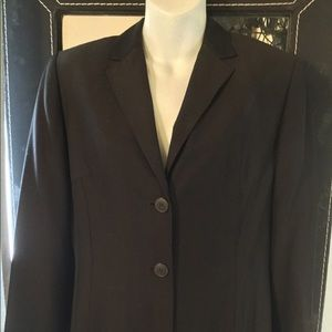 Ann Taylor Brown Blazer ladies size 6
